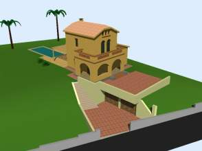 Casa unifamiliar en alquiler en Sant Cugat - Valldoreix - Paseo de La Merla