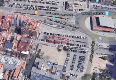 Land in calle de Manuela Estellés, nº 14