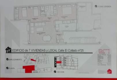 Apartament a calle del Collado, nº 25