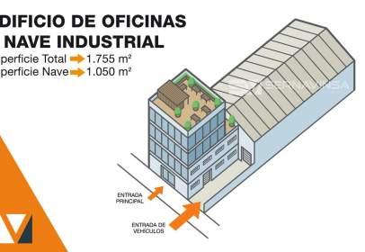 Nau industrial a Almeda