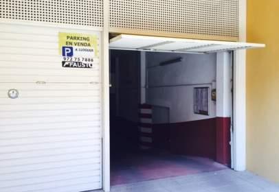 Garaje en calle Solidaritat, nº 34