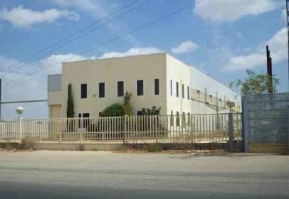 Nave industrial en calle de Fuente Alamo A Cartagena, nº 5
