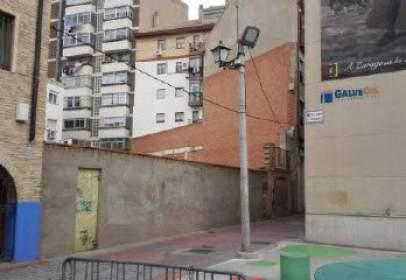 Terreny a calle calle Pedro Villacampa