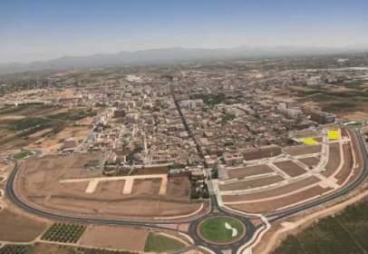 Land in Avenida L´Eliana C/V calle San Jose