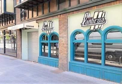 Local comercial a Avenida Laskoain