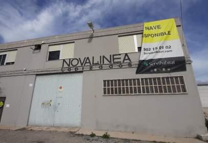 Industrial Warehouse in calle calle de La Caseta, nº S/N