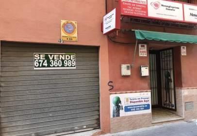 Local comercial en calle de Domingo Heredia